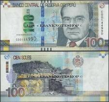 Banknote - Peru,PNew,100 Soles,UNC,2015 ( Issue 2018 )-  Ebanknoteshop
