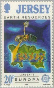 BAILIWICK of JERSEY - 1991 - C.E.P.T.- European aerospace - MNH Stamp - Sc.#545