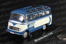SCHUCO Mercedes BENZ O 319 Bus Blue / Creme Color 1/43 Diecast Model