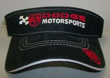 Dodge Motorsports Nascar Visor by Drew Pearson Racing Free Shipping