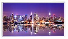 300W Infrarotheizung NY Skyline Thermostat Elektroheizung Überhitzungsschutz TÜV