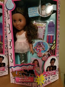Sparkle And Shine - Kenya Doll 13 inch - Growing Up Pretty and Proud