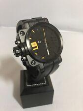 Oakley Mens Gearbox Swiss Made Watch Black & Yellow Dial Swiss Made X-Metal Rare