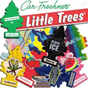 Little Trees MULTI CHOICES Air Freshener Home/Car Scent 24CT. Pack-Free Shipping