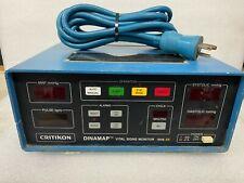 Critikon 1846 Sx Dinamap Vital Signs Monitor Powers Up No Other Testing H 1