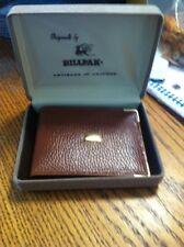 New  Artisans In Leather 'By Billpak' Brown Bifold Wallet In Box Top Grain