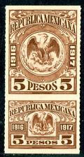 Mexico Revenues, Baja cal, $5p 1916-17 MNH, MR #BC26, $20