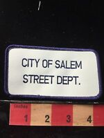 Vintage Massachusetts Patch City Of Salem Street Department 60C8