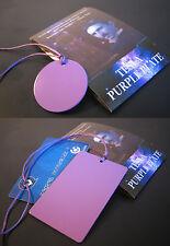 """Tesla Purple Plate """"Credit Card"""" & Tesla Purple Disc -Positive Energy- Original"""