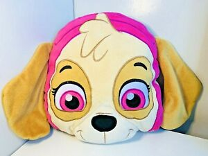 Nickelodeon Paw Patrol Skye Puppy Dog Travel Cloud Head Pillow Soft Plush Toy