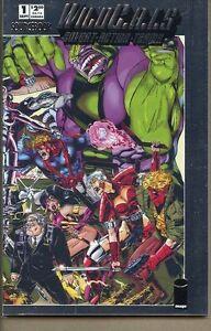 Wildcats Covert Action Teams Sourcebook 1993 series # 1 near mint comic book
