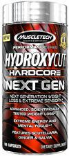 MuscleTech Hydroxycut Hardcore Next Gen 100 Capules Weight Loss, + FREE SAMPLE