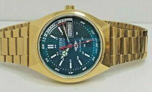 Citizen Automatic Movement No.8200 Men's Wrist Watch Working Condition