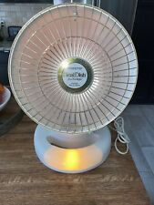 Presto HeatDish Parabolic Electric Heater plus Footlight and Alarm