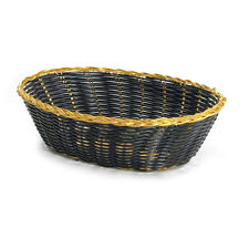 "PACK OF 12! TABLECRAFT 9"" 975B OVAL BLACK BASKETS - WEDDING CRAFTS GIFTS DECOR"