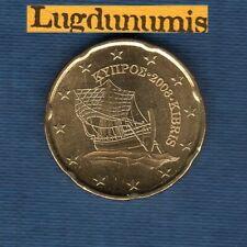 Chypre 2008 20 Centimes D'Euro SUP SPL Pièce neuve de rouleau - Cyprus