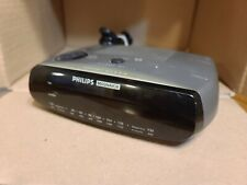 Philips Magnavox AJ 3080 / 17 - Dual Alarm AM FM Clock Radio Works AJ 3080/17
