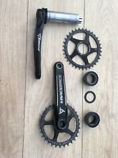Race Face Turbine Crank with 32 & 34T Narrow Wide Ring + Hope Bottom Bracket.