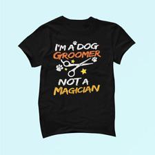 Im A Dog Groomer Gift Shirt Pet Grooming Pet Dog Lover 100% Cotton Unisex _735