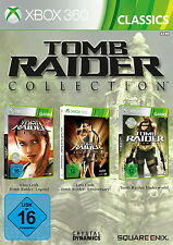 Xbox 360 Tomb Raider -- Collection Edition Legend + Anniversary + Underworld OVP