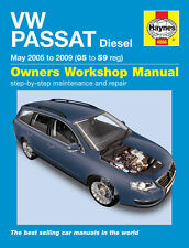 Volkswagen VW Passat Diesel 2005-2010 Haynes Manual 4888 NEW