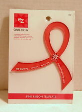 EZ Quilting PINK RIBBON TEMPLATE...#882107004...Made in USA...NEW!