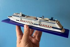 1:1250 scale CELEBRITY EQUINOX cruise ship MODEL ocean liner waterline boat