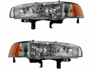 For 1992-1993 Honda Accord Headlight Assembly Set 93235FX Headlight Assembly