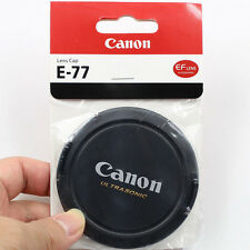 New 77mm Snap-On Front Lens Cap Cover for Canon 77 mm Lens Ultrasonic