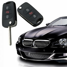 3 Buttons Remote Folding Flip Key Case Fob Shell For KIA Soul Rondo Sportage Rio