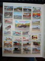 Oldtimer Coche Autos Stamps Briefmarken Sellos Timbres