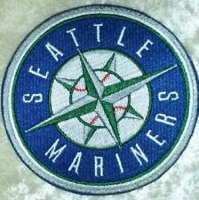 """Seattle Mariners 3.5"""" Iron /Sew On Embroidered Patch~FREE Ship!"""