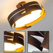 Plafonnier moderne Lampe de séjour Lustre Lampe à suspension Marron/Blanc 67716