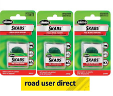 3 x 6 Pack Slime Skabs Glueless Bike Puncture Patches For All Bikes Free Courier