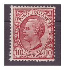 REGNO 1906  - LEONI  CENT.  10  FILIGRANA CAPOVOLTA   NUOVO  **