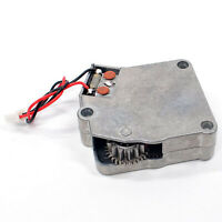 1:16 Scale Upgrade Parts Metal Rotation Gearbox for RC Tank Model Modification