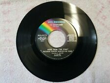 """Music from """"The Sting"""" Solace The Entertainer - Marvin Hamlisch Vinyl 45 RPM"""