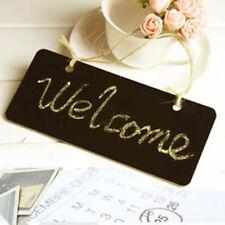 Mini Small Hanging Chalk Board Blackboard Memo Home Sign Message Chalk Board