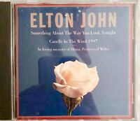 Elton John Candle In The Wind 1997 Tribute to Diana Princess Of Wales CD Single