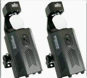 2 x Chauvet Intimidator Led 100 DMX Moving Scan Light DJ PA