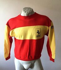 Maglia ferrari club valle susa felpa sweatshirt  jacket jersey jacke young