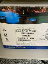 Jandy Water Colors Large120V LED 100' Cable Stainless Steel