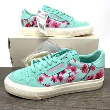 Adidas Arizona x Continental Vulc J Green Tea Cherry Blossom EF9075 - Size 4 Y