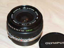 OLYMPUS OM ZUIKO 28mm F2.8 LENS LATER MC VERSION PERFECT CONDITION