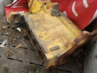 CASE D188 DIESEL ENGINE SHORT BLOCK CORE