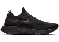 NEW Size 8.5 Women's Nike Epic React Flyknit Triple Black BQ8927-011