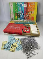 Camouflage Vtg 1961 Milton Bradley TV Board Game #4009 - Parts