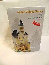 New Department 56 Alpine Village Series Neuschwanstein Castle Light House 404478