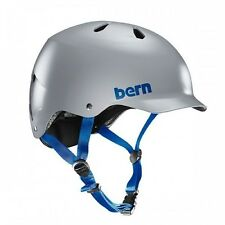 BERN WATTS EPS hommes vélo skate casque satin gris S-M L-XL XXL-XXXL