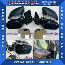 VW Caddy Life Wing Mirrors Upgrade 2016 Onwards (Fits 2004 - 2015) Elec Heated